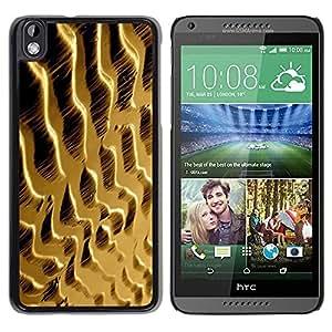 FECELL CITY // Duro Aluminio Pegatina PC Caso decorativo Funda Carcasa de Protección para HTC DESIRE 816 // Dunes Sand Desert