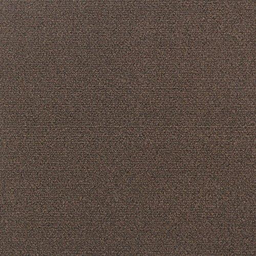 Ribbed Carpet Tiles Residential Flooring Self Adhering 18