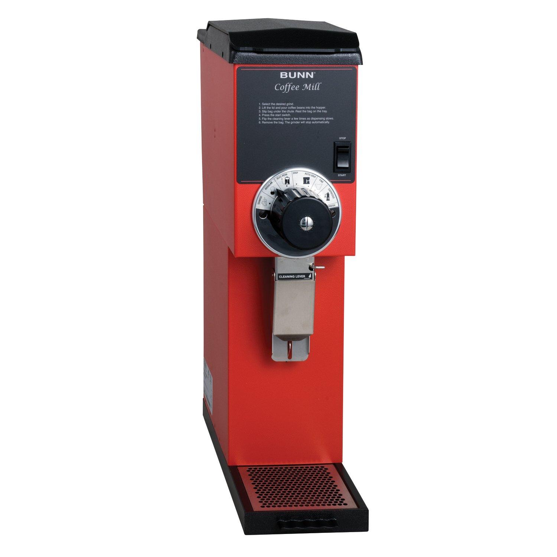 BUNN 22100.000100000001 G3 Bulk Coffee Grinder, Red