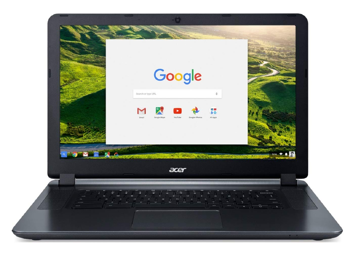 Acer Chromebook 15 Intel Celeron 1.6 GHz 4 GB Ram 32GB Flash Chrome OS Renewed
