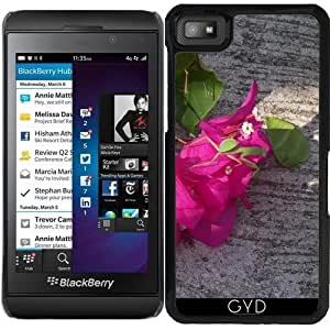 Funda para Blackberry Z10 - Asia Flor Rosa by Marina Kuchenbecker