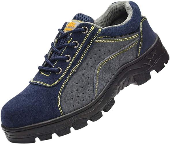 Qiran Men's Shoes Male Steel Anti