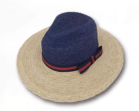 aa5099cd8de Sun Styles Polo Men s Raffia Fedora Style Sun Hat at Amazon Men s ...
