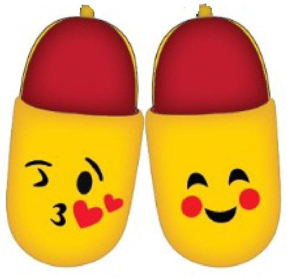 emoji Girls Scuff Slippers