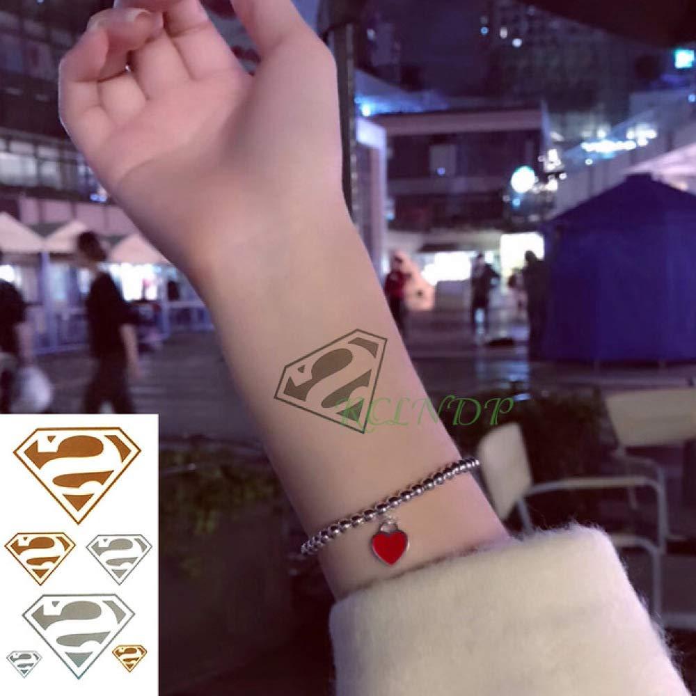 5pcs Impermeable Etiqueta engomada del Tatuaje 6 Tipos de Corona ...
