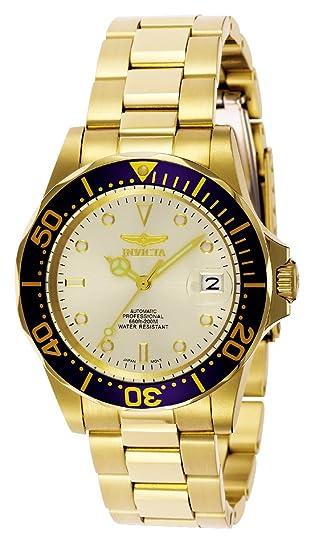 """Invicta INVICTA-9743 Reloj Automatico Unisex """"correa de acero inoxidable"""" ..."""