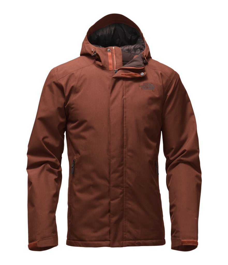 The North Face Men's Inlux Insulated Jacket - Brandy Brown Heather - S (Past Season)