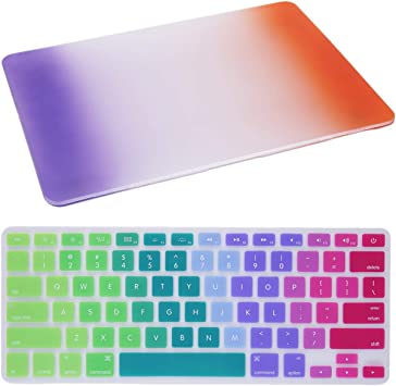 Super-Thin and Lightweight Shatter-Proof Hard Protective Case with Keyboard Cover for MacBook Pro 15inch