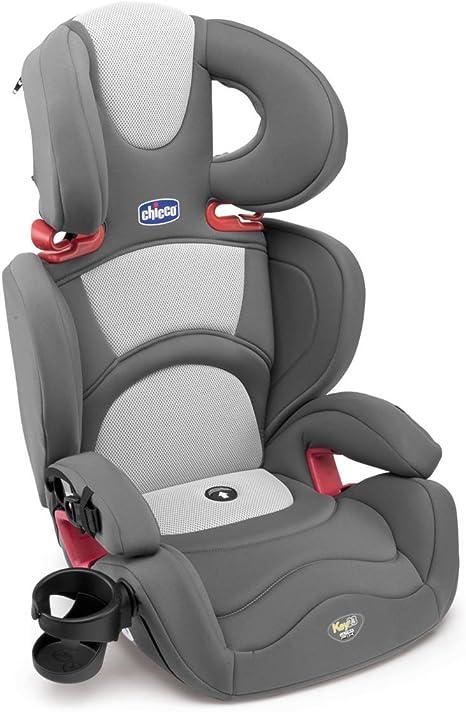 Chicco Key 2-3 UltraFix - Silla de coche, grupo 2/3, color gris y ...