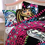 monsters inc bedding set twin - Monster High All Ghouls Allowed Twin Sheet Set