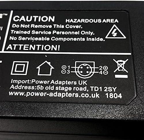 12V Mirai DTL-522P201 22 lcd TV home power supply adaptor and plug cord