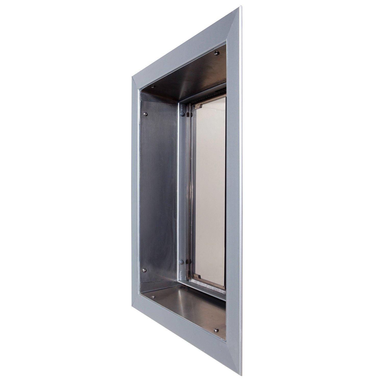 Plexidor Large Door Mount Pde Electronic Pet Door In Bronze Pde Door
