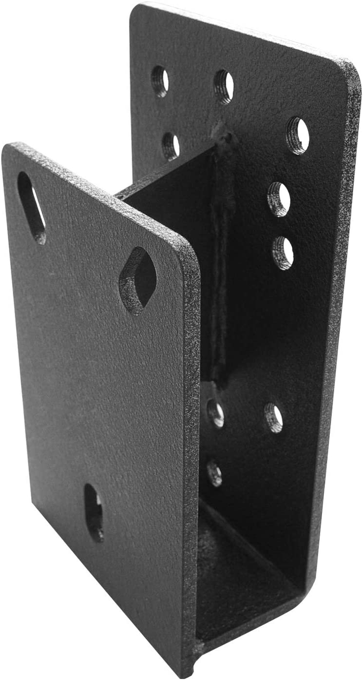 EAG Black Tire Relocation Bracket Fit for 1987-2018 Jeep Wrangler TJ//YJ//JK