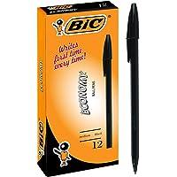 BIC 952031 Economy Ball Pens Medium Point (1.0 mm) - Black, Box of 12