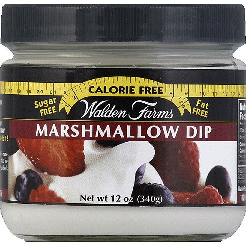 Walden Farms Calorie Free Marshmallow Dip, 12 oz, (Pack of 6)