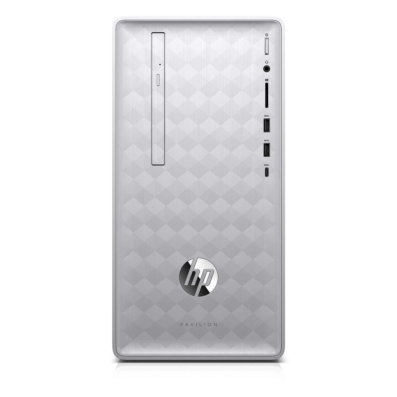 2018 HP Pavilion Desktop Computer, 8th Gen Intel Hexa-Core i5-8400 up to 4.0GHz, 16GB DDR4 RAM, 1TB 7200RPM HDD + 256GB SSD, DVDRW, RX 550 2GB, WiFi 802.11ac, Bluetooth 4.2, USB 3.1, HDMI, Windows 10