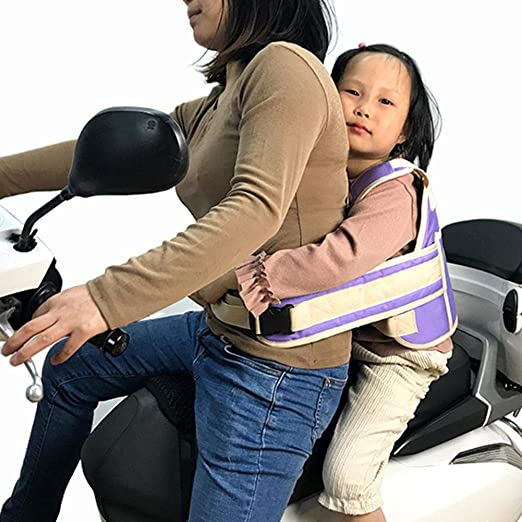 Motocicleta cinturón de seguridad niño motocicleta cinturón arnés ...