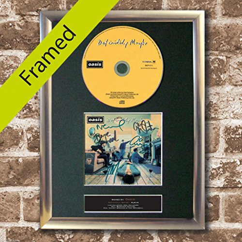 oasis definitely maybe poster - 6