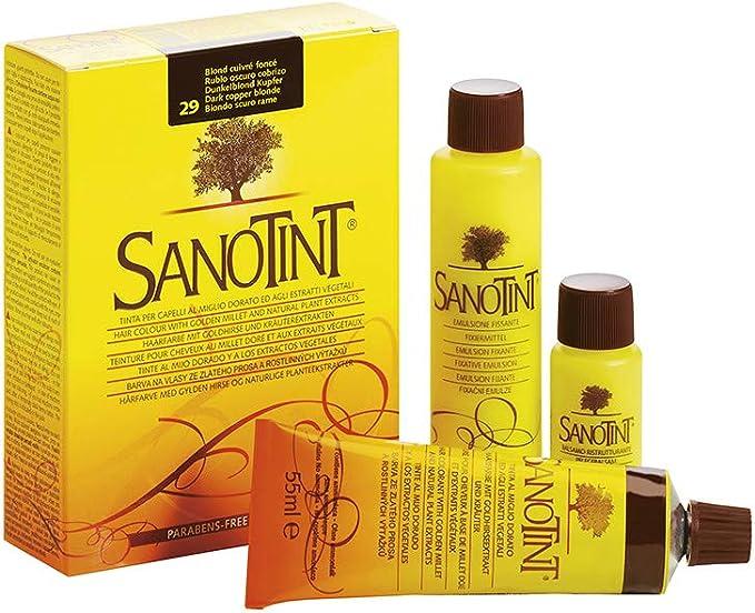 SANOTINT Tinte clásico color 29 rubio oscuro cobre – 2 ...