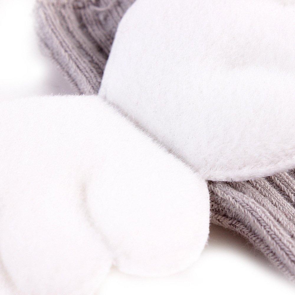 Cute Angel Wing Toddler Baby Legging Warm Knee-High Cotton Socks Anti-skid 4 of Pack