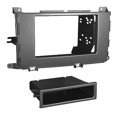 Metra 99-8229S Single/Double DIN Installation Dash Kit for 2011 Toyota Sienna: Car Electronics