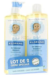 Klorane Bebe gel corps et cheveux 2 x 500 ml