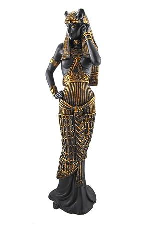 PTC 10.75 Inch Flirty Bastet Egyptian Mythological Goddess Statue Figurine