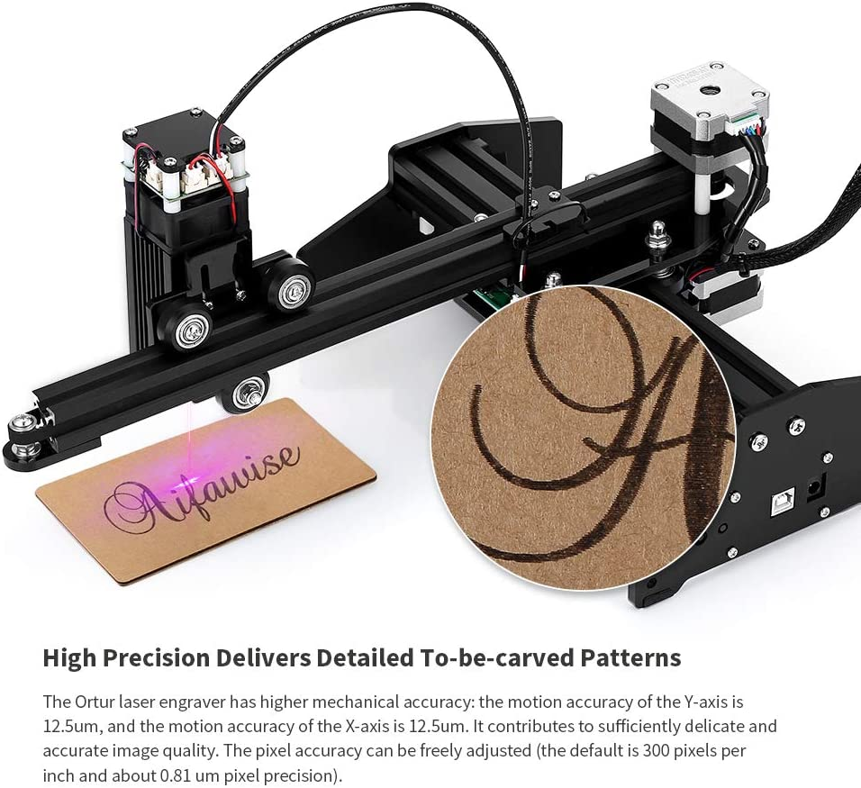 Ortur Laser Master 7W Desktop Personal Laser Graviermaschine Graveurausstattung