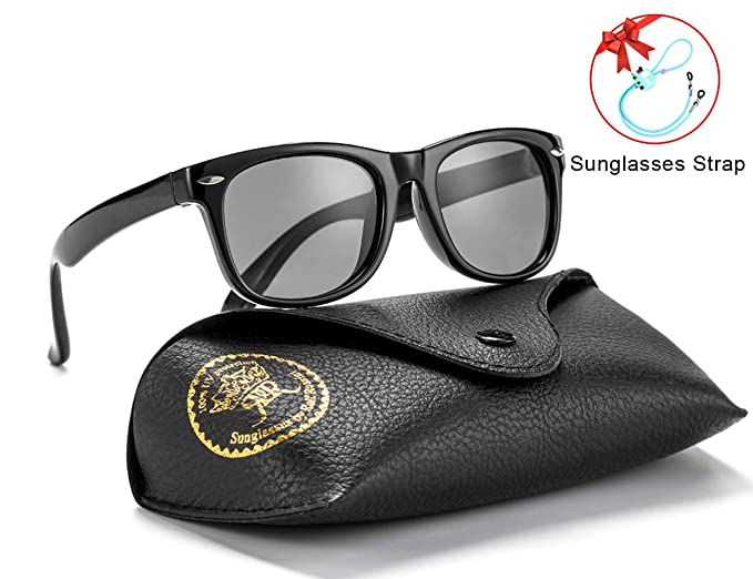 e6e26905803a Flexible Kids Sunglasses Polarized Unbreakable Toddler Sun Glasses for Baby  Boys and Girls Stylish 100%