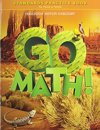 Go Math!: Standards Practice Book Grade 5