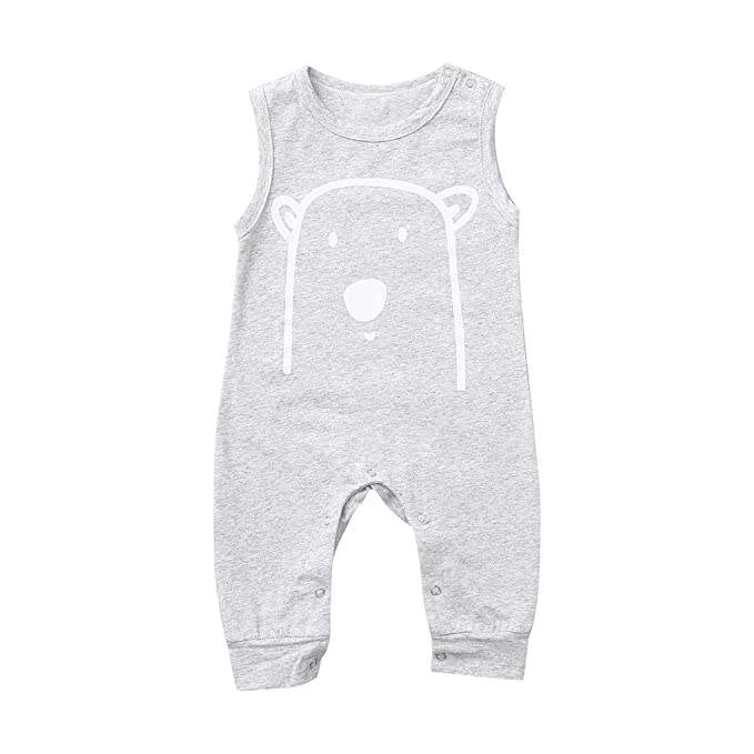 3a9de50c3 Cuekondy Newborn Toddler Baby Boys Girls Kids Cute Cartoon Bear Romper  Jumpsuit Summer Clothes 0-3 Years Old: Amazon.ca: Clothing & Accessories