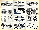 12 Premium Sheets($0.74/pc)-love Nest Waterproof,botanical Custom Temporary Tattoos Sticker for Men Woman Kids Vase Decoration Spray Waterproof Stickers