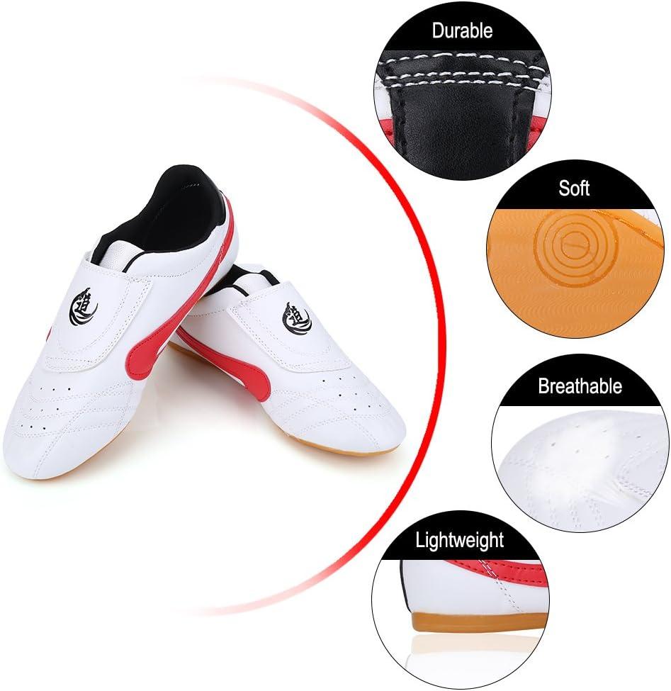 Zapatillas de Taekwondo Antideslizantes Zapatos de Artes Marciales