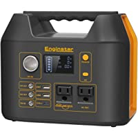 Enginstar 110 Watt Portable Power Station 298Wh Solar Generator for Laptops Cellphones Drones and More Electronics