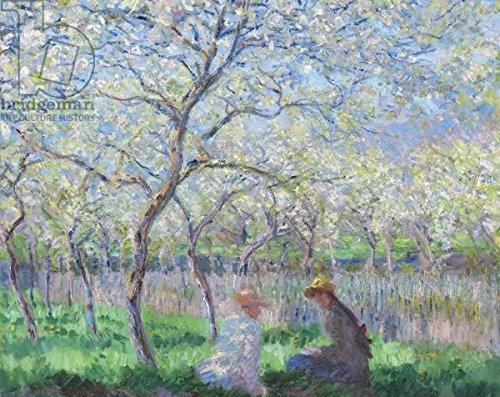 "Leinwand-Bild 100 x 80 cm  ""Springtime, 1886 (oil on canvas)"", Bild auf Leinwand"