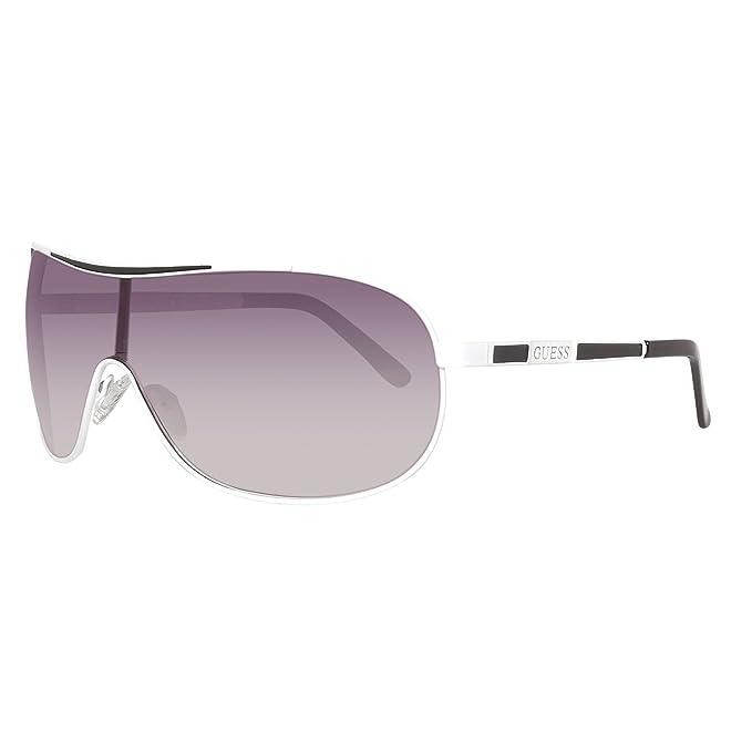 Guess Caballeros Gafas de sol Blanco GUF110-WHT-35: Amazon ...
