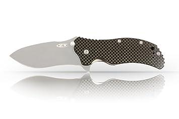 scales for spyderco zero tolerance zt0350 100 carbon fiber knife