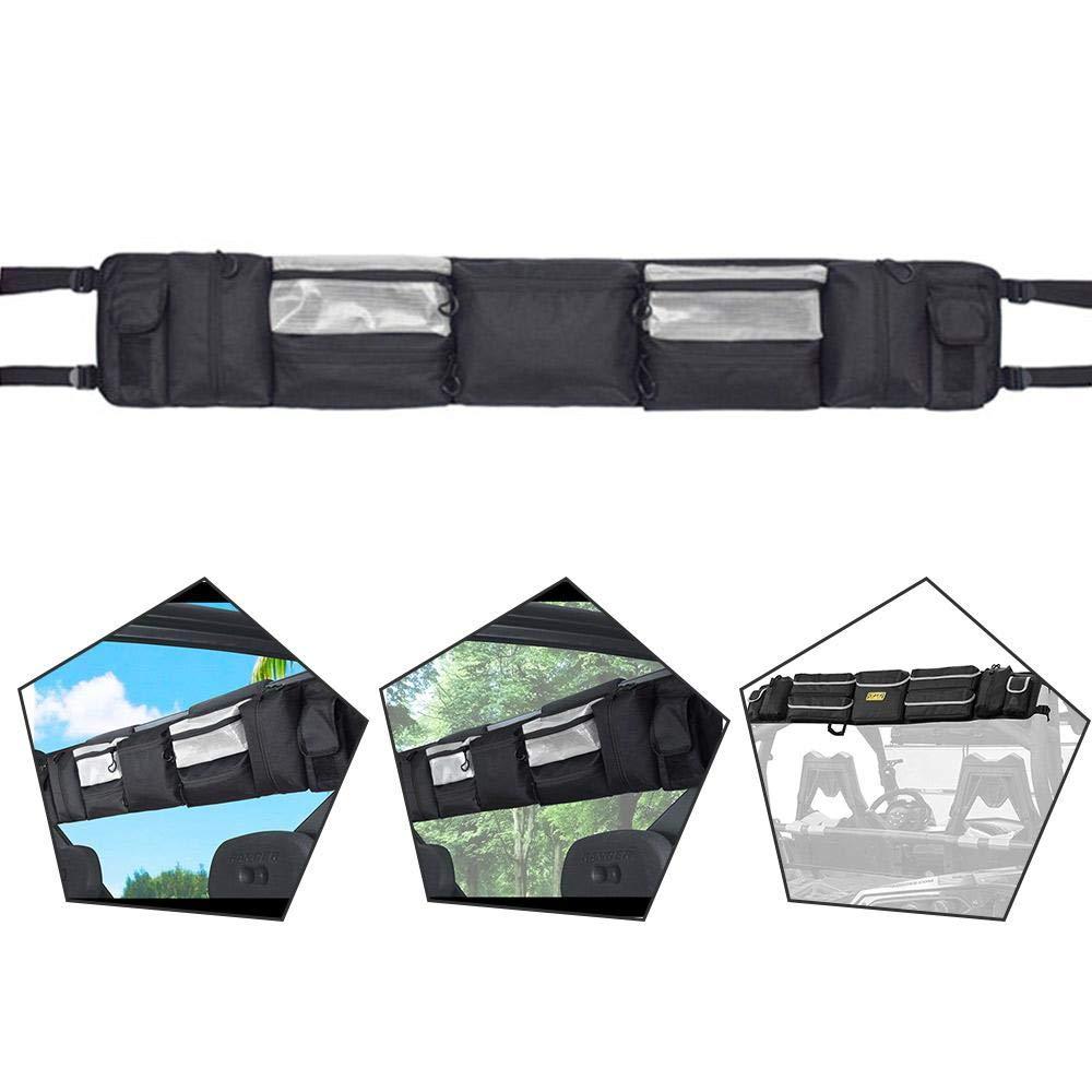 UTV Roll Cage Organizer ATV Bag Large Capacity 47 Wx7.5 L Waterproof /& Sun Protection /& Shockproof FOONEE UTV Storage Bag UTV Gear Bag