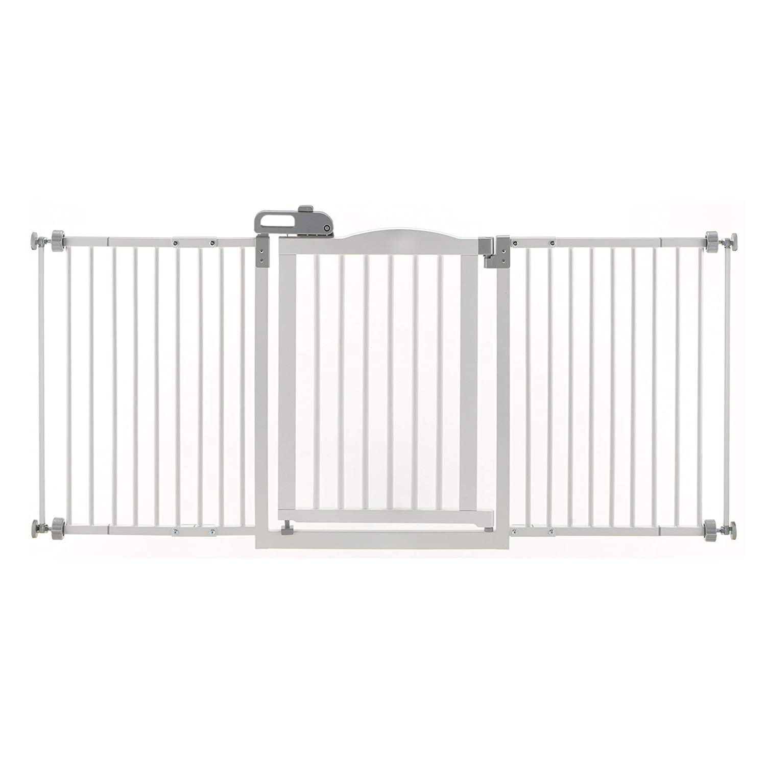 Origami White 35-61\ Origami White 35-61\ Richell Pet One-Touch Gate II Wide, White