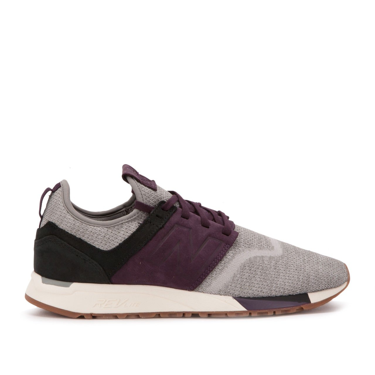 New Balance Herren 247 Classic Mesh Sneaker  13|LM grey-purple
