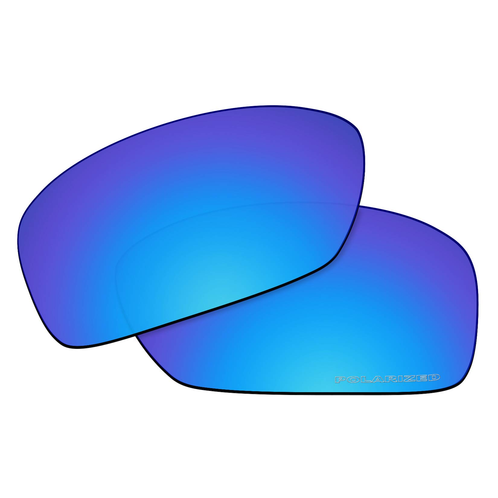 OOWLIT Replacement Lenses Compatible with Oakley Hijinx Sunglass Ice Combine8 Polarized