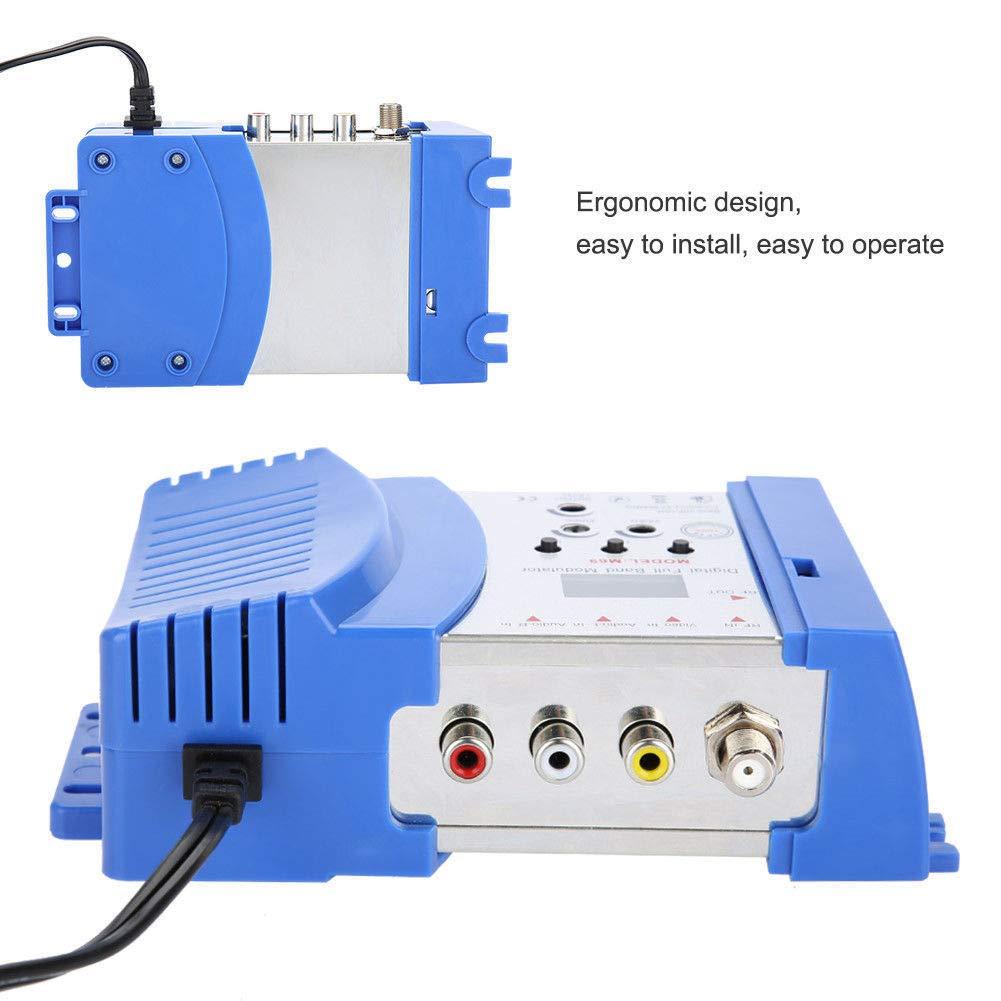 Abboard Professional Digital VHF UHF RF Modulator AV to RF AV to TV ...