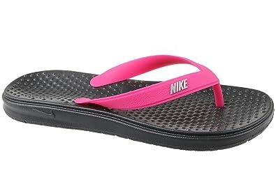 3b43efebcc45 Amazon.com  NIKE SOLAY Thong (GS PS) (6 M US Big Kid)  Shoes