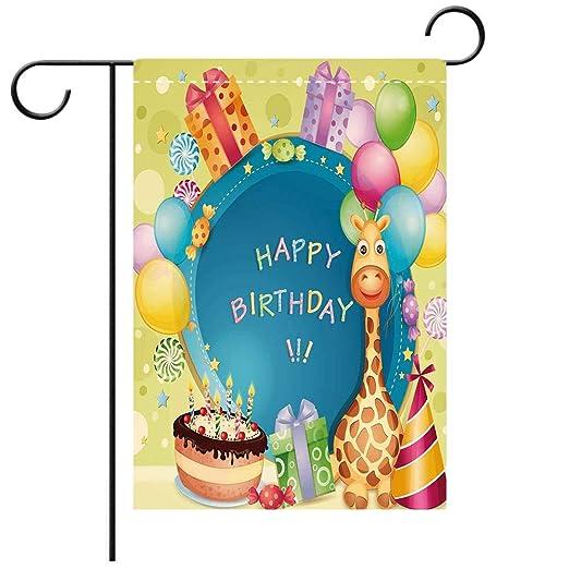Decoración de doble cara para cumpleaños con diseño de ...