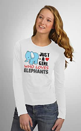 Art Gallery Misr Printed Love Elephants T-Shirt Long Sleeve