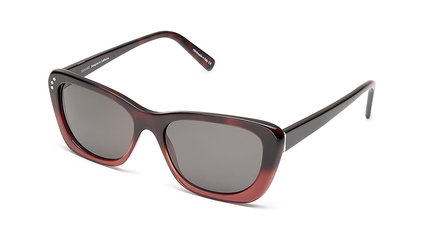 SHAUNS California ACCESSORY レディース B078KZ7FCW Black Cherry/Smoke Lens Black Cherry/Smoke Lens