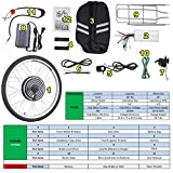 """Pinty FT2000 26""""x1.8"""" Front Wheel 48V 1000W Ebike Hub Motor Conversion Kit with Dual Mode Controller for Electric Bicycle Bike, Up to 28-30 MPH"""