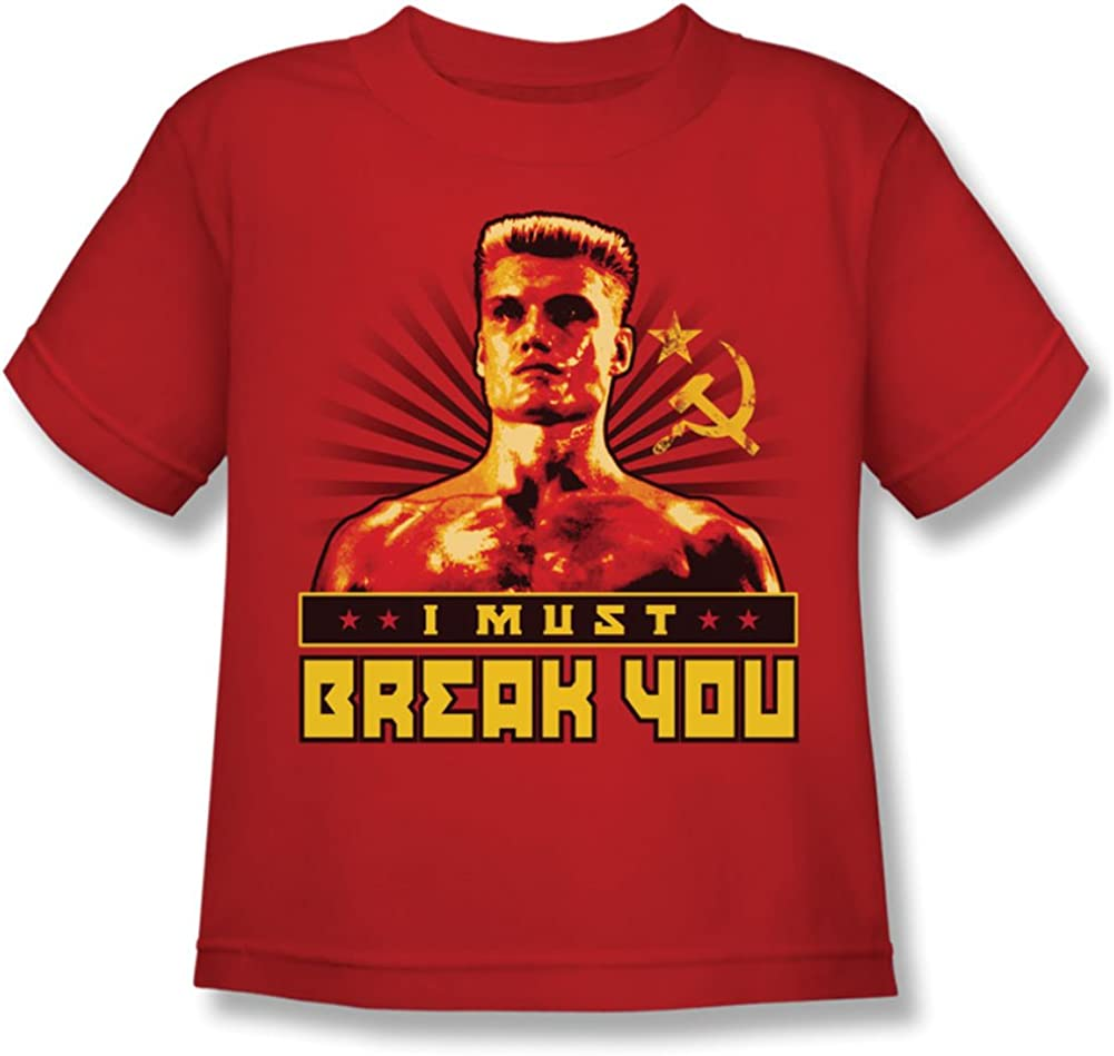 Rocky MGM Movie I Must Break You Little Boys T-Shirt Tee