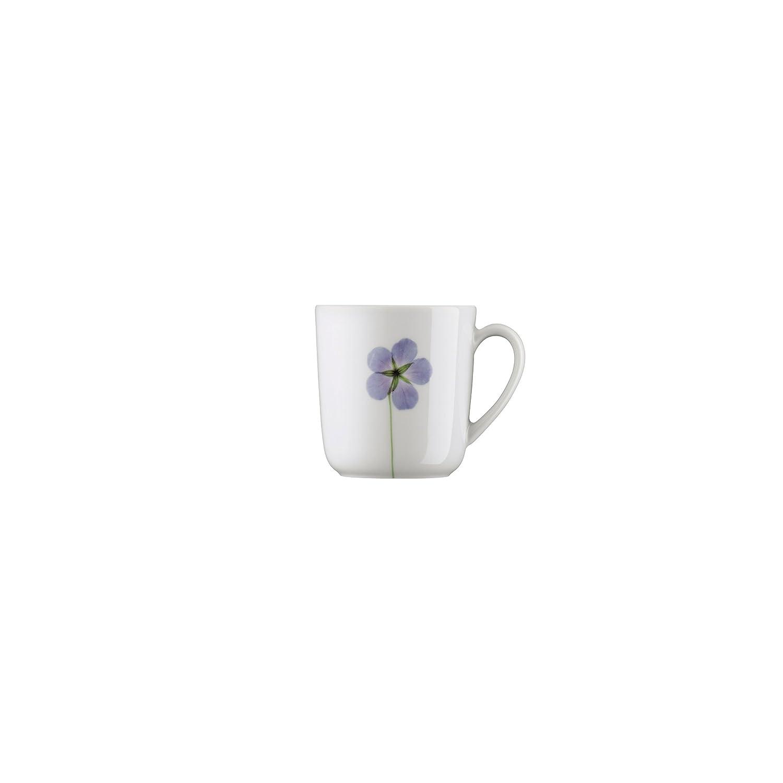 Arzberg Porzellan Form 1382 Blaublüten Becher Kaffeebecher mit Henkel