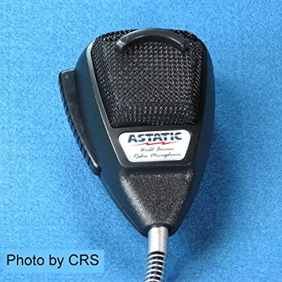 Astatic 636L Noise Canceling Mic CB Radio 4 pin Cobra - Astatic 636LB1 by ASTATIC